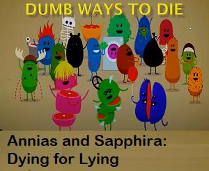 Annias and Sapphira